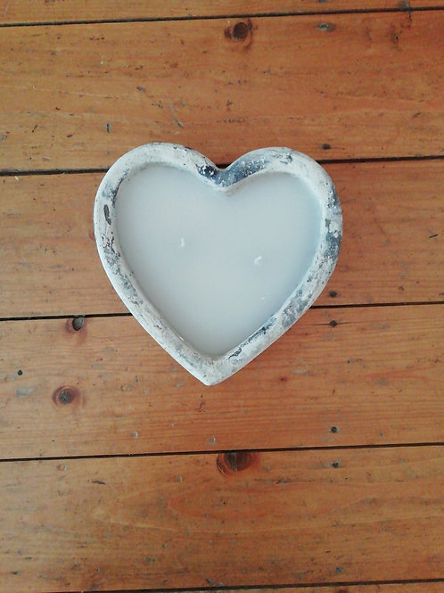 Birkdale Heart Candle