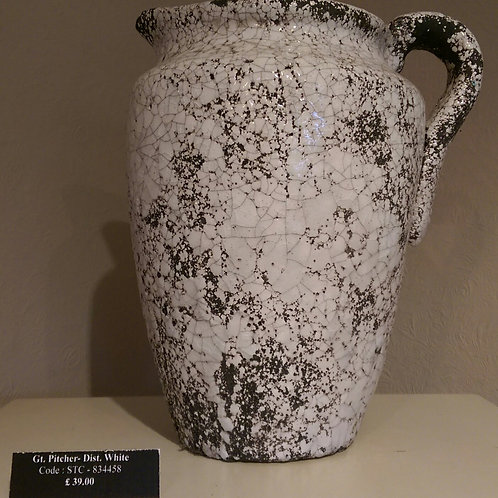 Pitcher-Distressed White