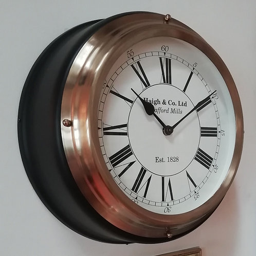 Haigh & Co. Ltd Stafford Mill Wall Clock