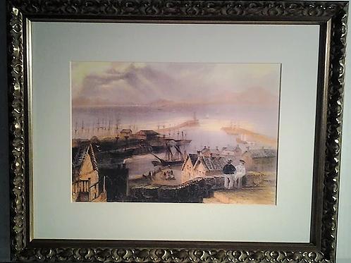 Maryport Harbour 1840