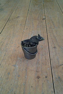 : Mouse On Bucket