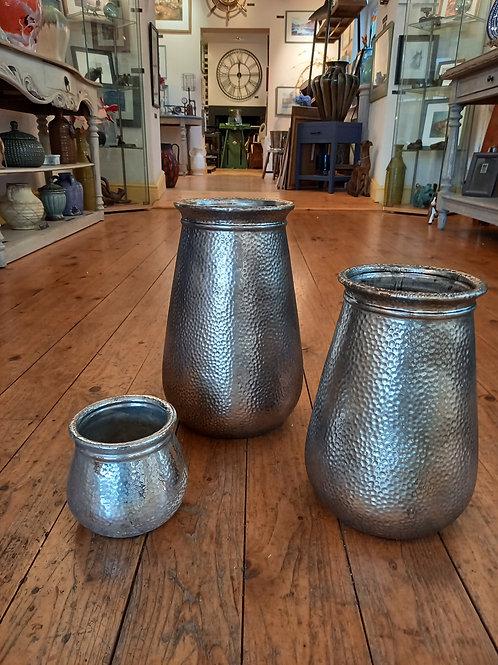 Silver Gilt Vase