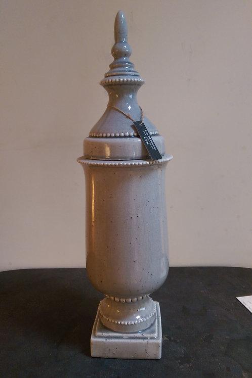 Tall Finial Jar