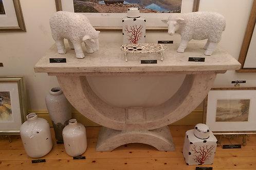 Roman Stone Table