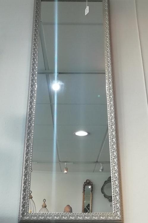 Elegant Silver Rectangular Mirror