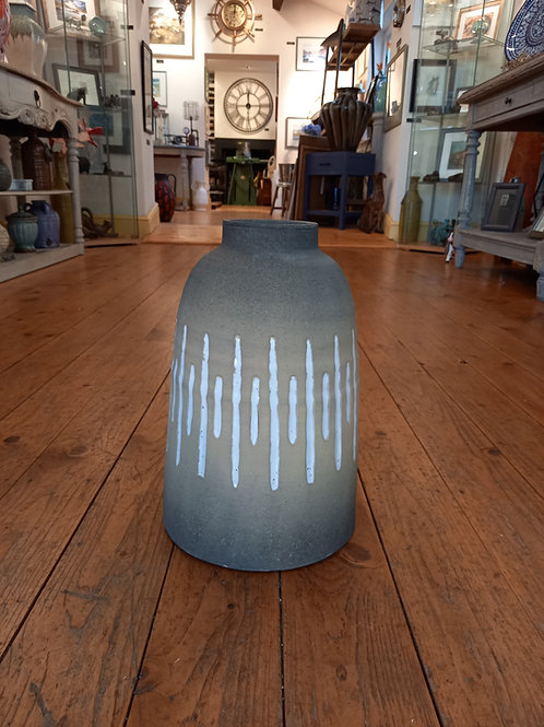 Large Vase - Sand And Stripes