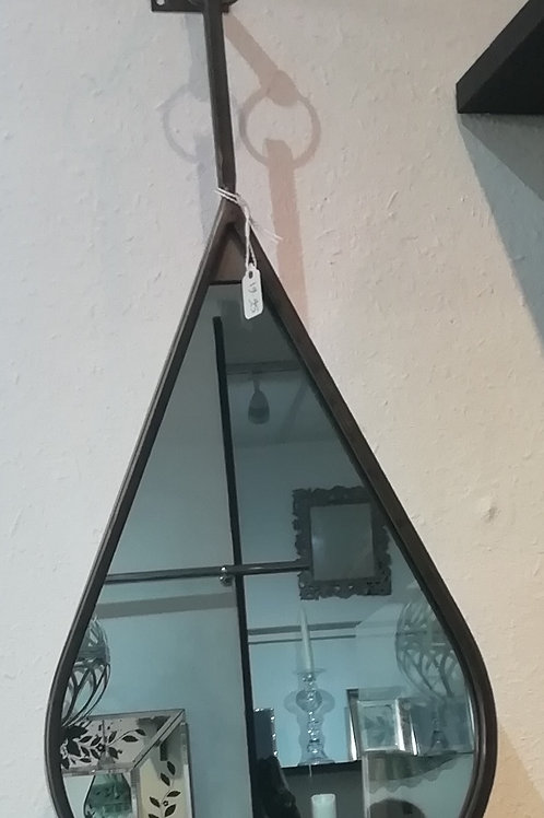 Tear Drop Hanging Mirror