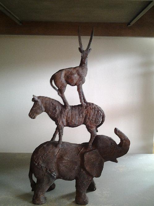 Three Animal Ornament