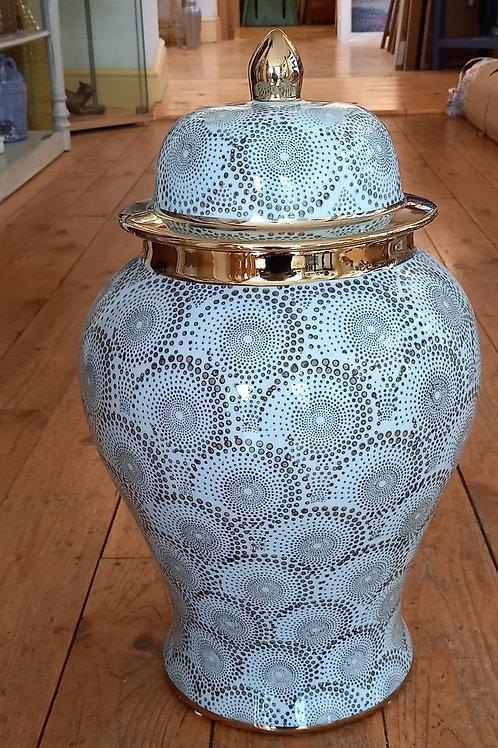 Grey Ceramic Lidded Jar