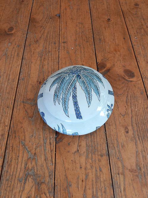 Blue Palm Jar