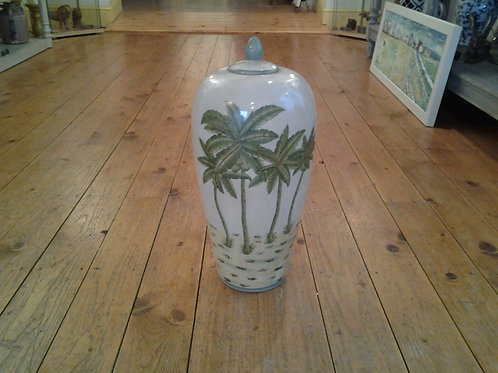 Palm Tree Jar