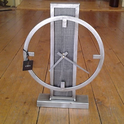Carson Industrial Mantle Clock
