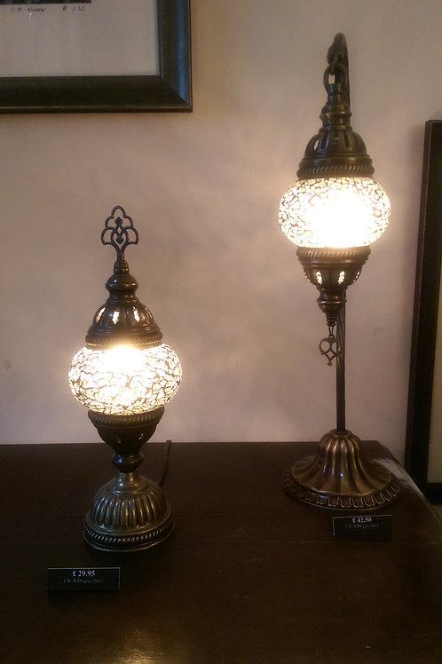 Grey Medieval Turkish Lamp