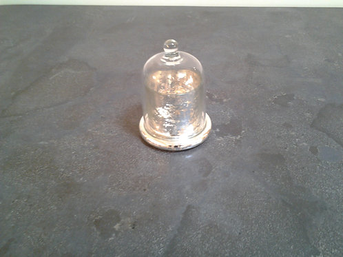 Claymore Antique Silver Tealight Holder