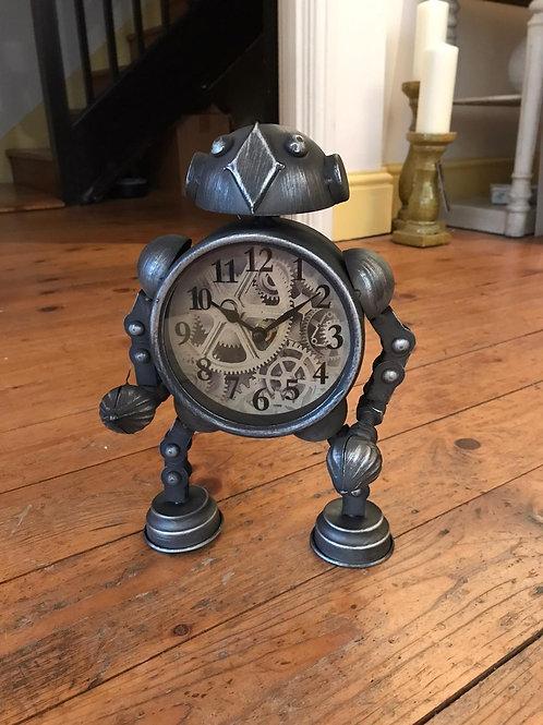 Robot Table Clock