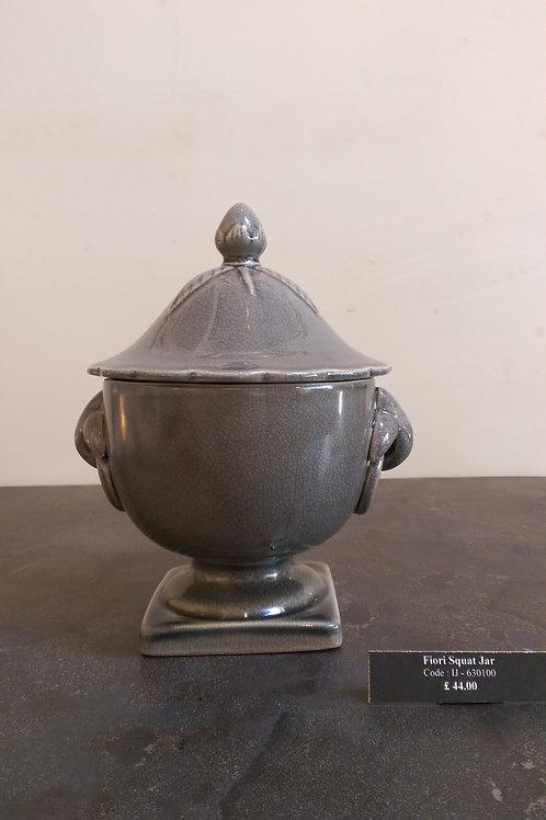 Fiori Squat Jar