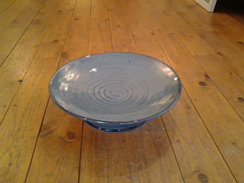 Ceramic Plate On Stand