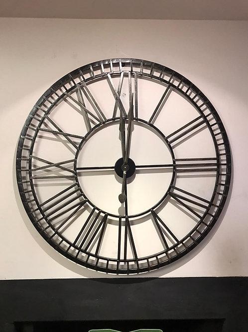 Roman Numeral Round Clock
