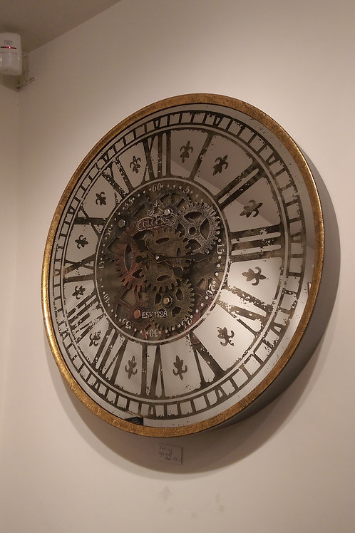 Round Cogs Wall Clock