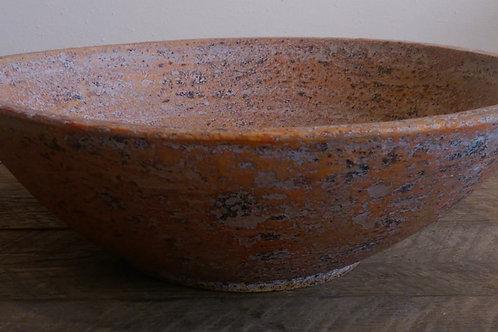 Round Bowl-Terracotta Verdigris