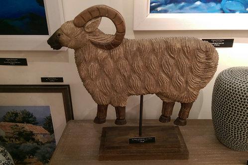 Ram On Pedestal