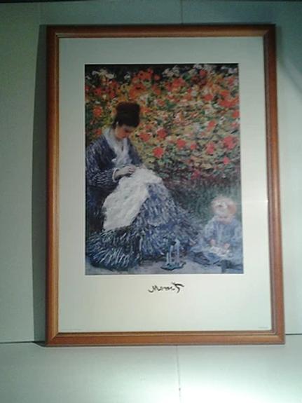 Mme Et Mile Monet
