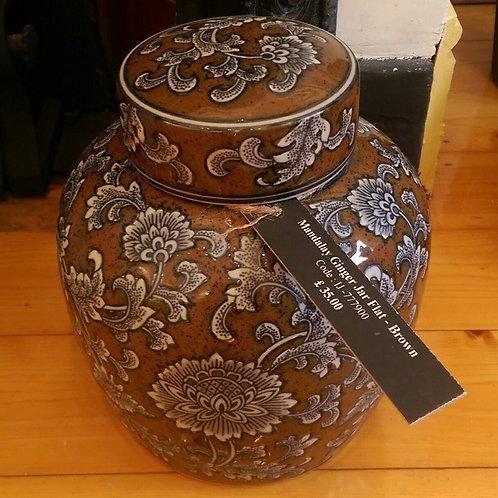 Mandalay Ginger Jar