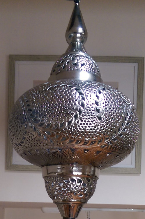Embossed Tangier Pendant Lantern
