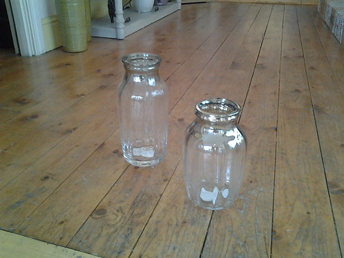 Milk Bottle Vase