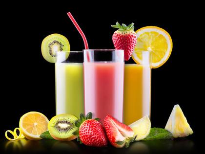El azúcar y las frutas