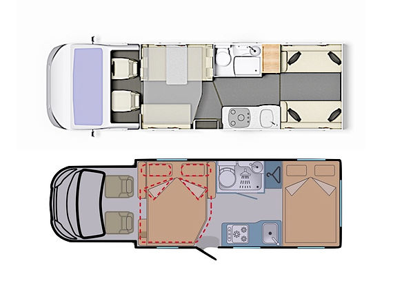 Elddis Autoquest 196 Day Night Layout