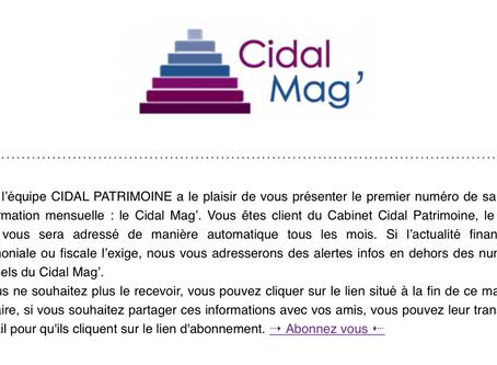 Cidal Mag' Décembre 2018