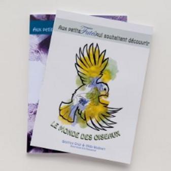 Livre pour les enfants - Le monde des Oiseaux