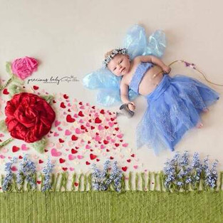 """Precious Baby Project: 'Forget-Me-Not"""" Whimsical Photo Shoot"""