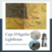 Cape D'Aguilae Lighthouse - Then and Now