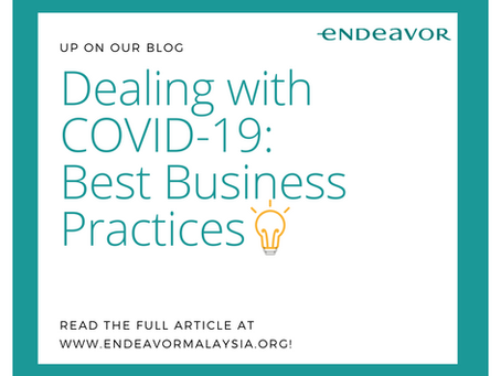 Dealing with COVID-19: Best Business Practices