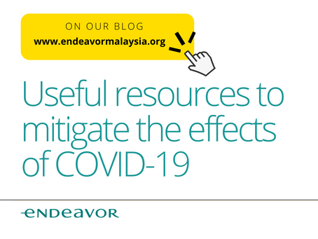 Useful Resources To Mitigate The Effects Of COVID-19