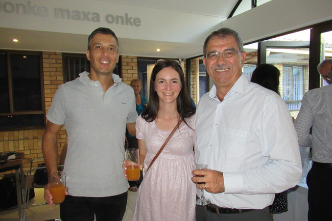 Jaco and Karlien Potgieter, the graphic designers with Kobus