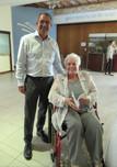 Petra Koen, the translator and Kobus