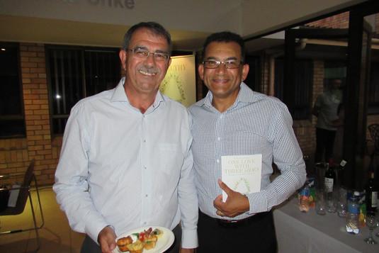 Vernon Naidoo with Kobus