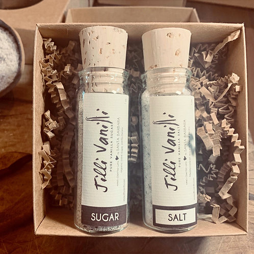 Vanilla Salt and Sugar Set