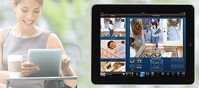 see real-time video in and around your house