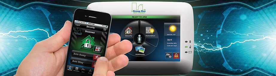 Control your security system, lights, thermostat, locks from anywhere