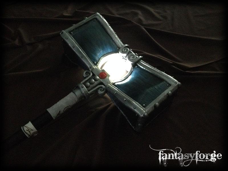 armi in lattice con luce