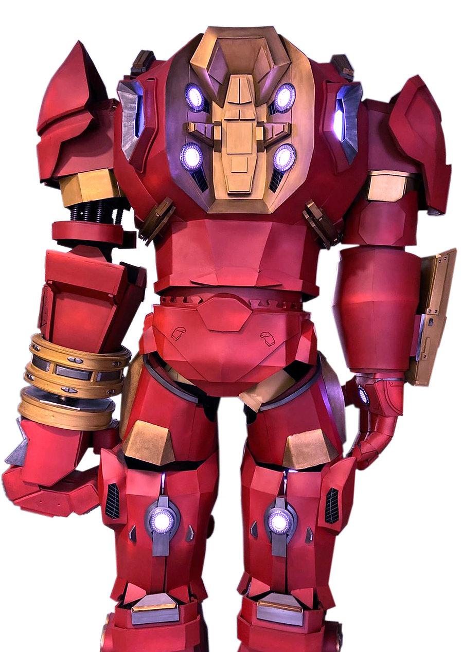 Ironman cosplay armor evafoam hulkbuster