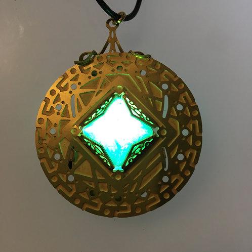 Zeno Brass Turquoise