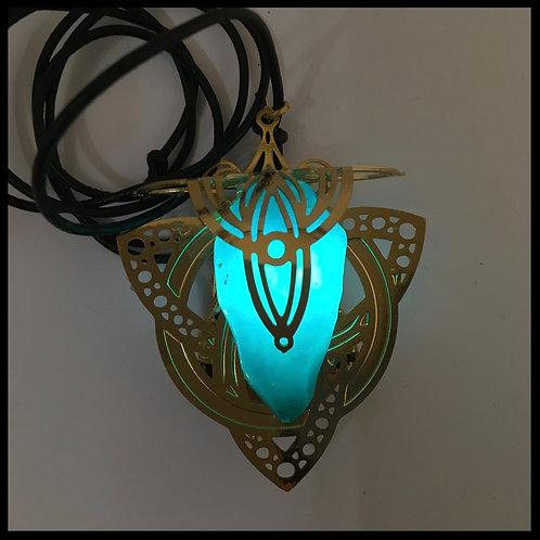 Atria Gold Turquoise