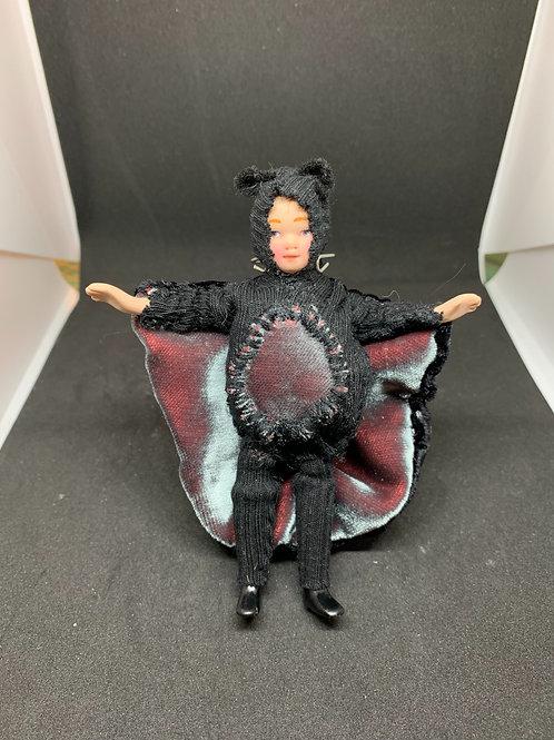 Barry the Bat - Halloween dressed doll