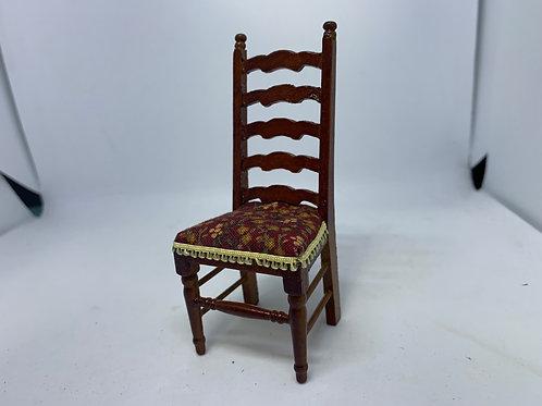 Wooden High-back Chair