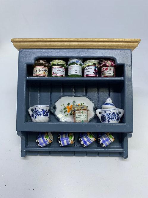 Blue Jam Shelf - Checked Mug